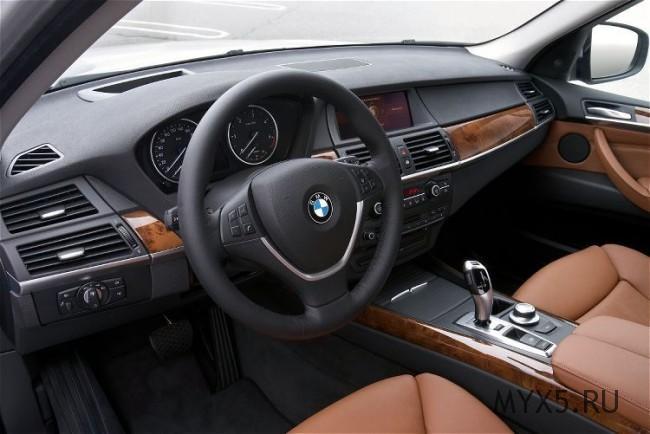 BMW X5 Интерьер, 2009 год выпуска
