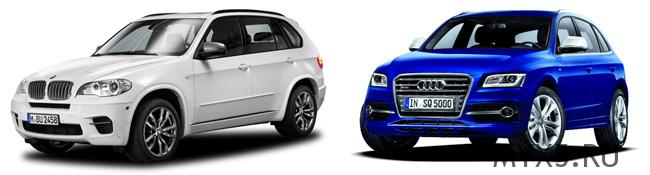 BMW X5 или Audi Q5 - кто кого?